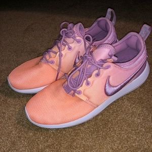 Nike Roshe Pink/Orange Ombré 7.5